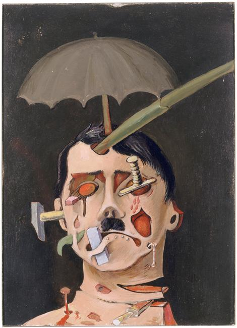 Victor Brauner- Hitler 1934