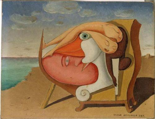 Victor Brauner- Antithesis 1937