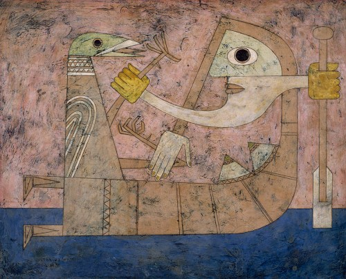 Victor Brauner- Consciousness of Shock 1951