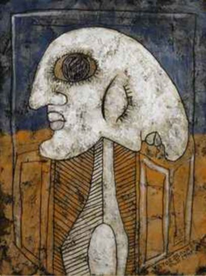 Victor Brauner- La Petrification de la Papesse