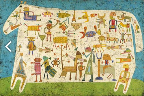 Victor Brauner- Prelude to a Civilization 1954