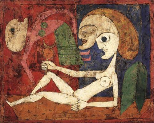 Victor Brauner- The Triumph of Doubt 1946