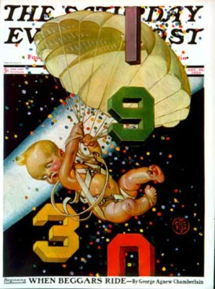 leyendecker- new year1930-c