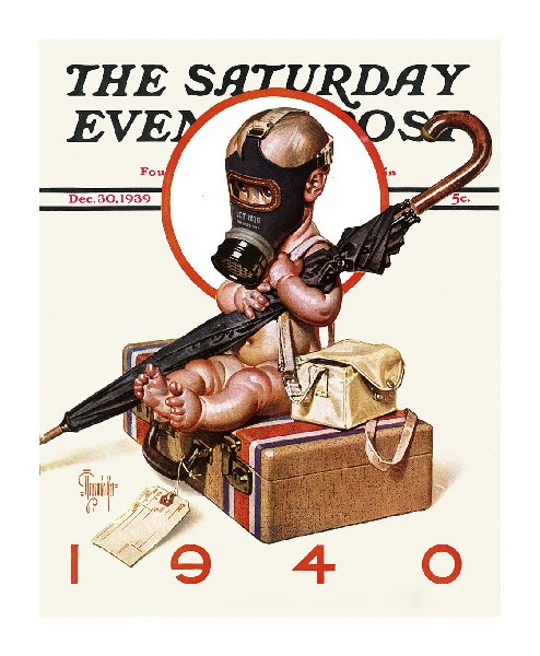 leyendecker New-Years-Baby-1940-Saturday-Evening-Post