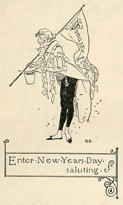 NewYearsDay Howard Pyle