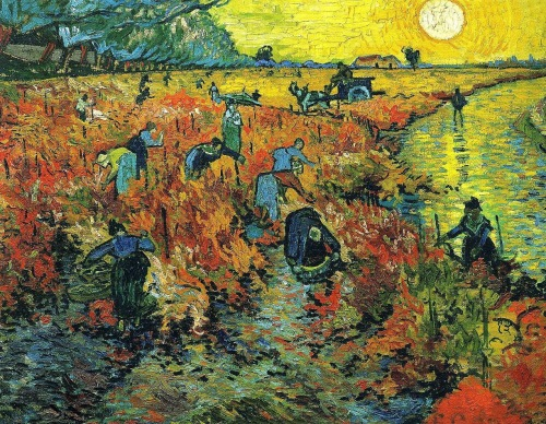 """La Vigne Rouge""- The Only Painting Sold in Van Gogh's Lifetime"