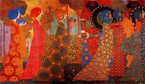 Vittorio Zecchin- Les Mille  et Une Nuit