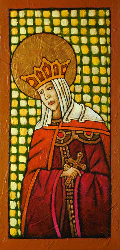GC Myers- Icon: St. Anna of Novgorod