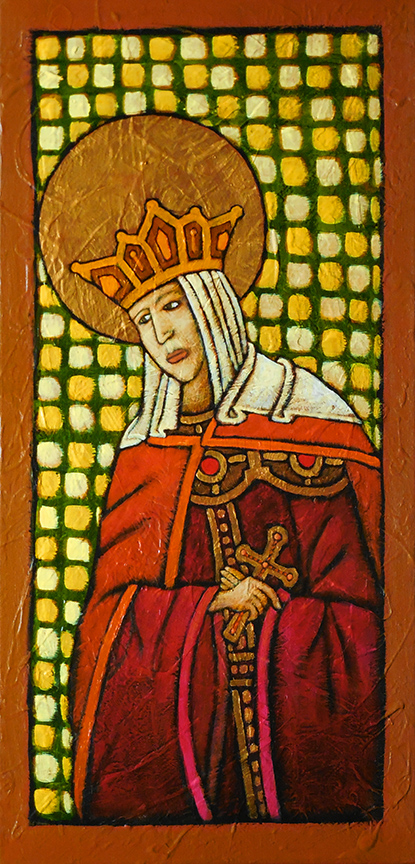 GC Myers- Icon: St. Anna of Novgorod
