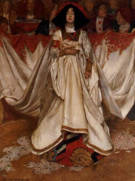 John Liston Byam Shaw Queen of Hearts