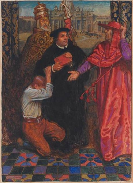 John Liston Byam Shaw  The Ballad of Luther 1918