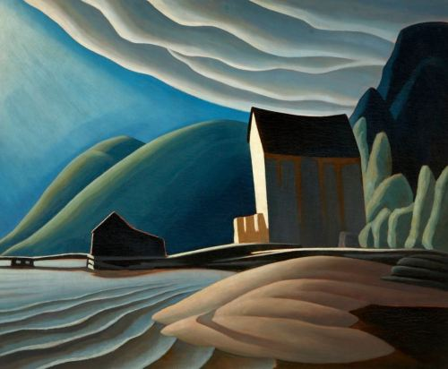 Lawren Harris- Ice House, Coldwell, Lake Superior 1923