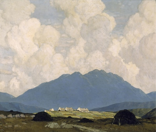 Paul Henry A Connemara Village 1933-34