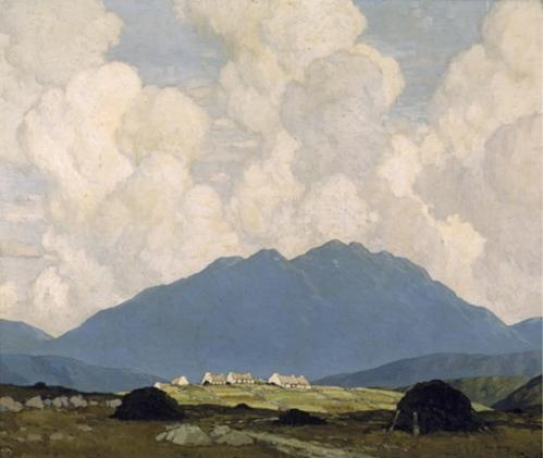 Paul Henry A Connemara Village 1933-34
