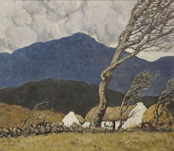 Paul Henry A Farm in County Down