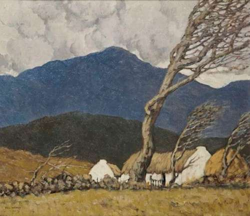 Paul Henry A Farm in County Down