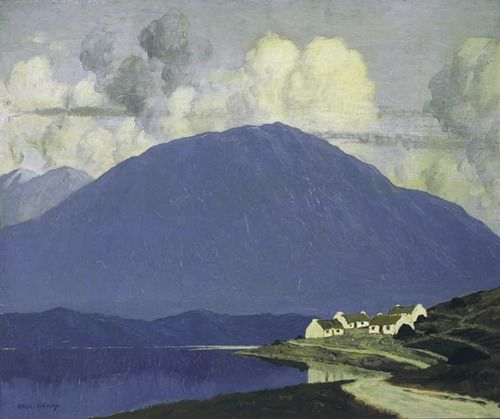 Paul Henry - Connemara Landscape