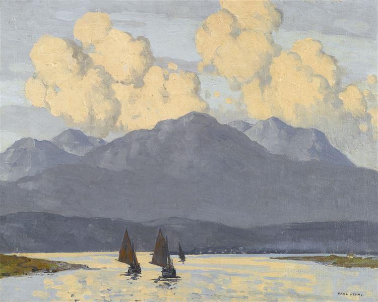 Paul Henry The Fishing Fleet Galway