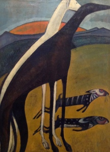 Amadeo de Souza Cardoso-Greyhounds 1911