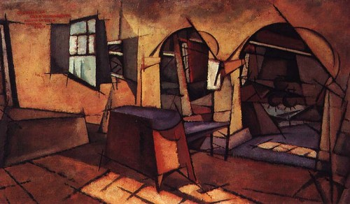 Amadeo de Souza-Cardoso- The Kitchen at Manhufe House 1913