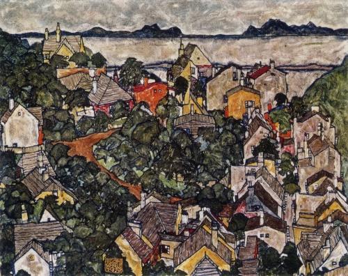 Egon Schiele Summer Landscape