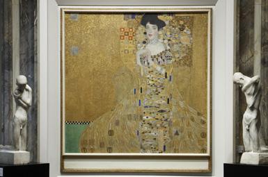 Neue Galerie - Gustav Klimt Portait of Adele Bloch-Bauer