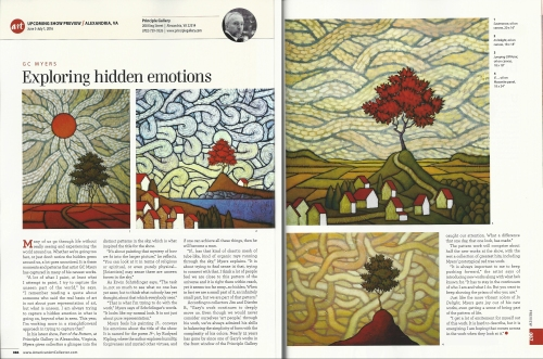 2016  June American Art Collector  GC Myers article