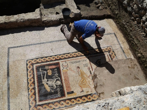 2200-year-old-Antakya Turkey Mosaics 1