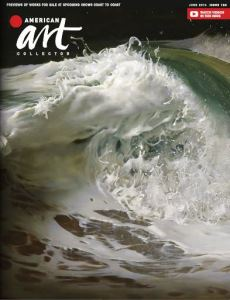American Art Colector June 2016 cover