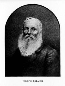 Joseph Palmer  1789-1873 Harvard Worcester MA