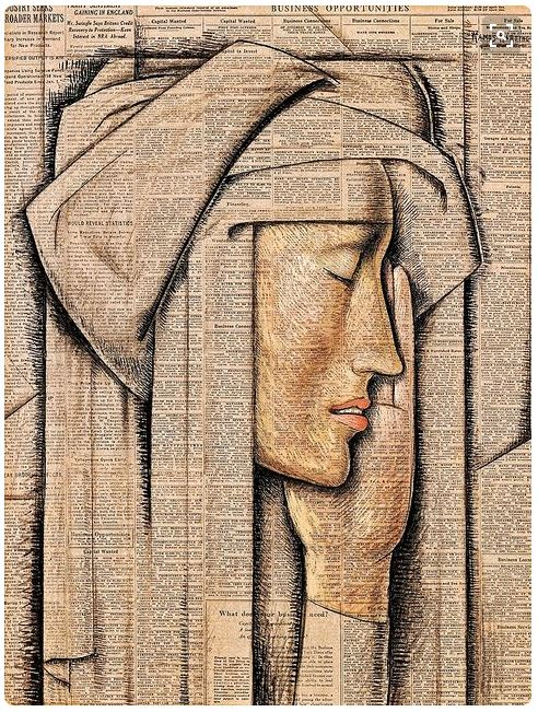 Alfredo Ramos Martinez- Head of a Nun