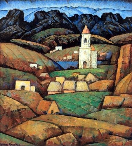 Alfredo Ramos Martinez- The Chapel