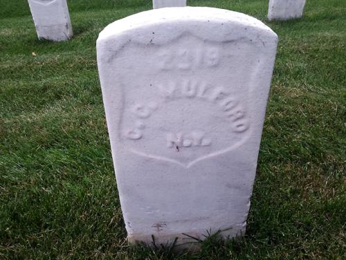 Charles C Mulford Grave Alexandria VA National Cemetery