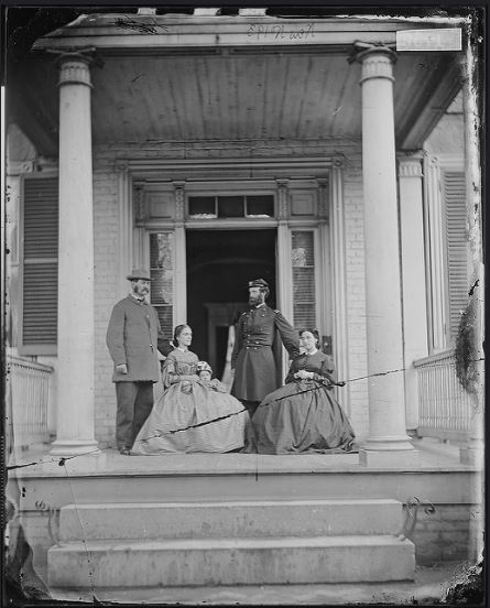 Gen John E. Mulford Matthew Brady Photo Richmond VA
