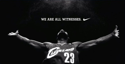 Lebron Nike Witness Poster