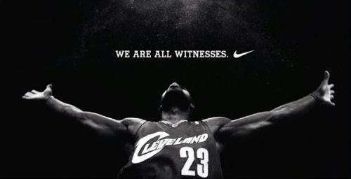 Lebron Nike Witness Poster