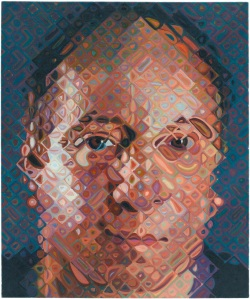 Paul Simon by Chuck Close