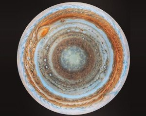 Jupiter From Below-  NASA-JPL-Space Science Institute