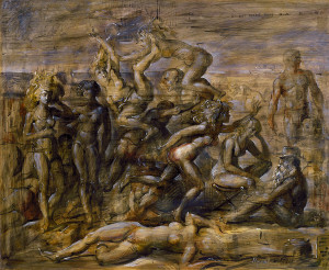 Reginald Marsh Coney Island Beach