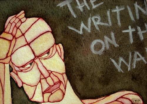 GC Myers-The Writing's on the Wall sm