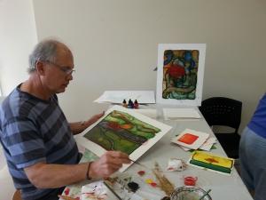 Frank B. at last year's workshop