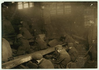 Lewis Hine -Penn Coal Co Ewen Breaker Pittston 1911