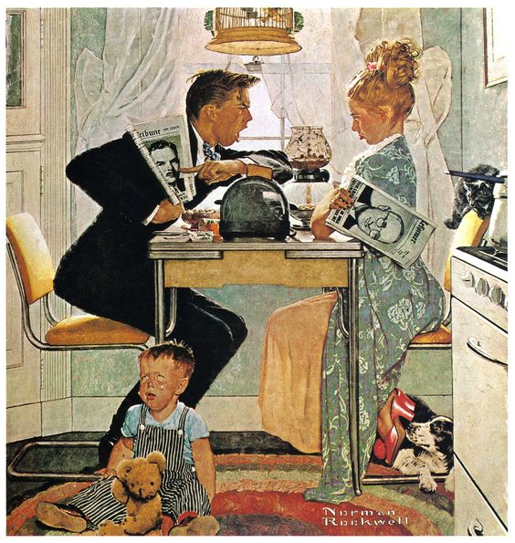 norman-rockwell-the-obvious-choice-1948