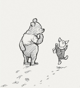 pooh-and-piglet-original-eh-shepard-drawing