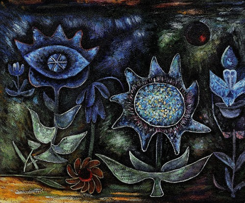 blossoms-in-the-night-paul-klee