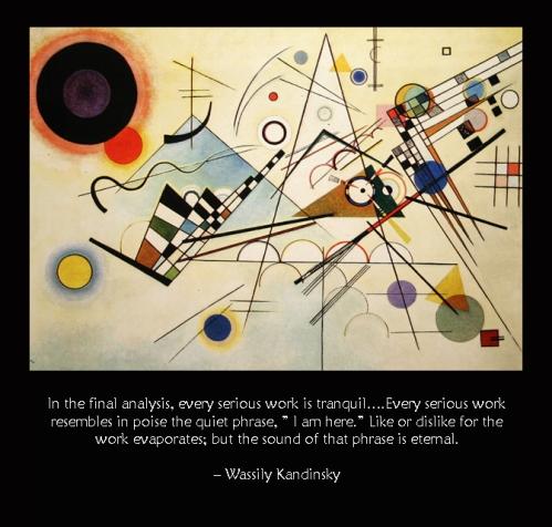 Kandinsky I Am Here