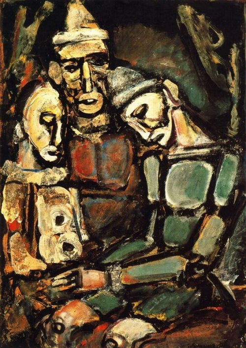 Georges Rouault Three Clowns