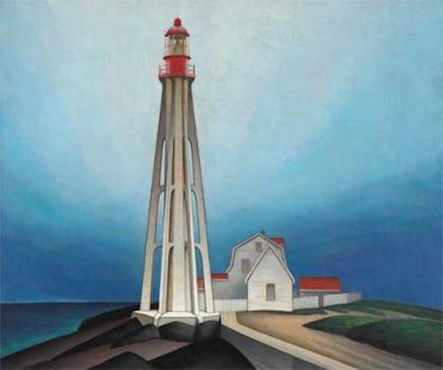 Lawren Harris -Light-House-Father-Point