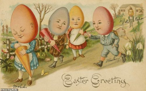 Victorian Easter Cards 4