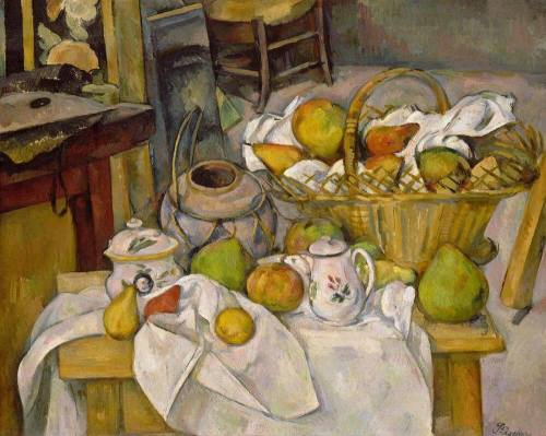 Cezanne- The Kitchen Table 1888-1890